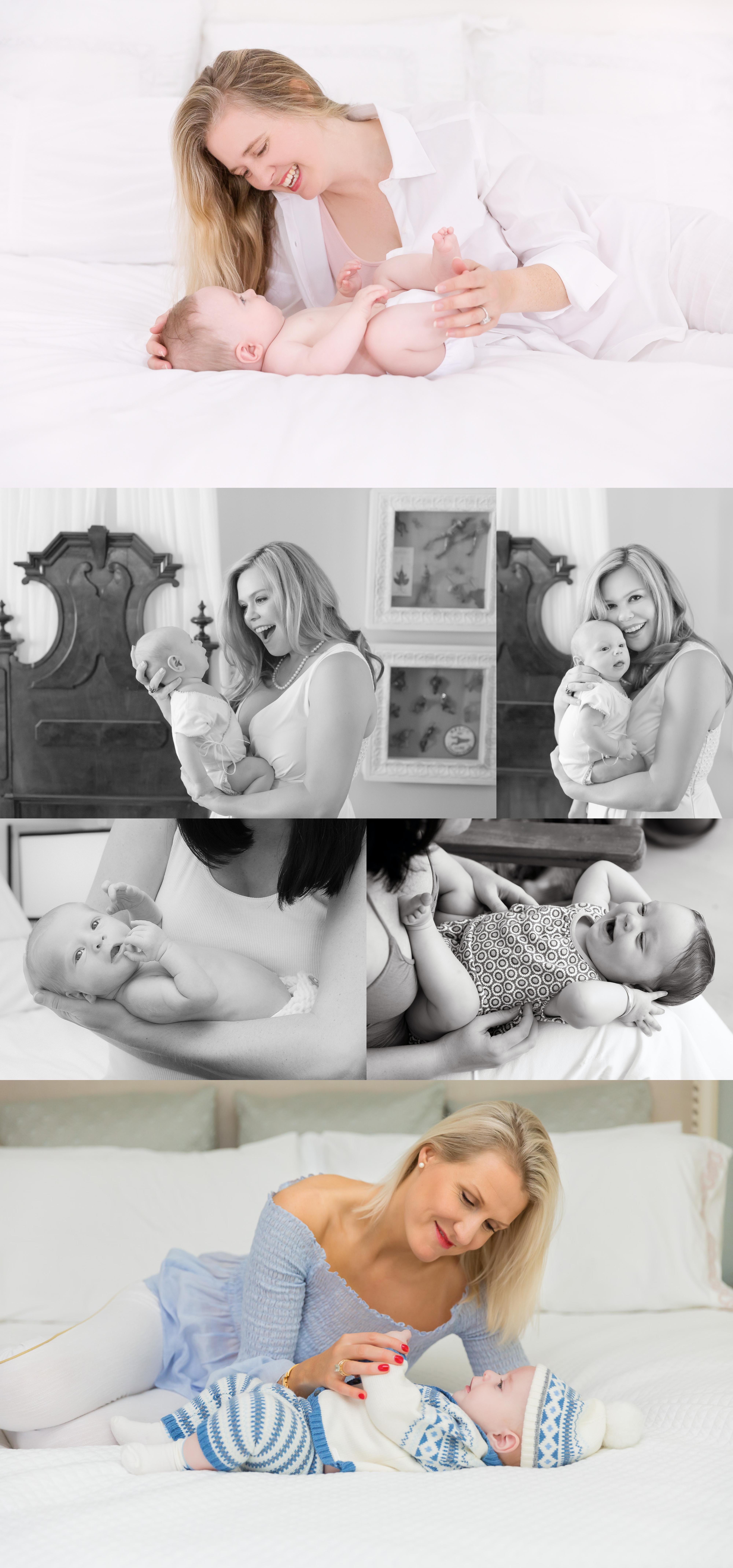 DIY newborn photos with parent